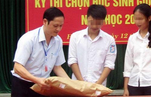 Phó phòng khảo thí Vũ Trọng Lương bị bắt vì nâng điểm thi ở Hà Giang