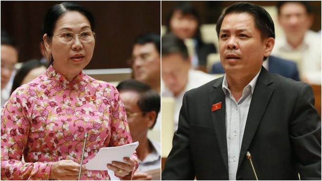 Đại biểu Quốc hội đề nghị bộ trưởng đi xe buýt để giảm ùn tắc giao thông