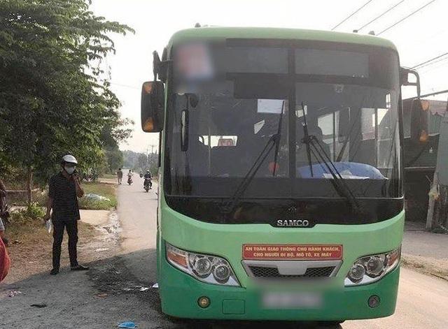 Nữ nhân viên xe buýt bị nam hành khách đâm chết