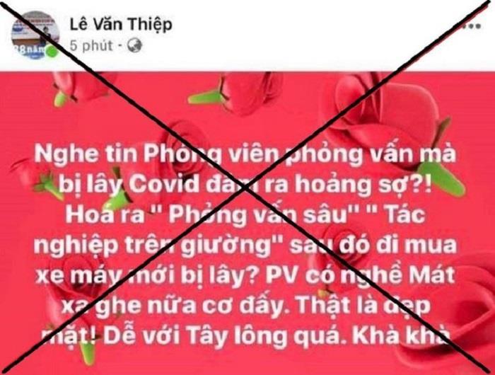 Luật sư Lê Văn Thiệp bị mời lên làm rõ nội dung 'thô tục' đăng trên Facebook