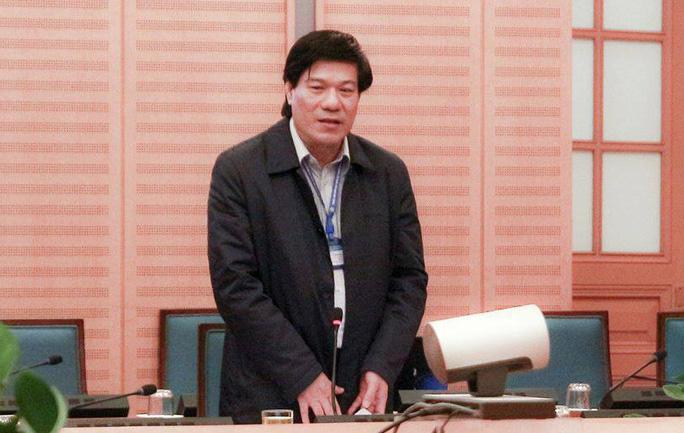 Bắt Giám đốc Trung tâm Kiểm soát bệnh tật Hà Nội Nguyễn Nhật Cảm