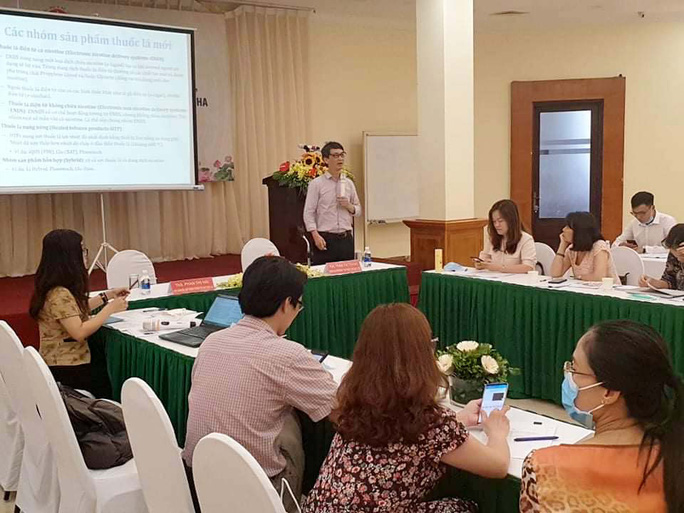 Đề xuất cấm sử dụng thuốc lá thế hệ mới tại Việt Nam