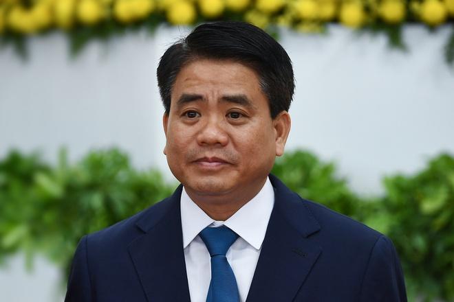 Ông Nguyễn Đức Chung bị bãi nhiệm chức Chủ tịch UBND Hà Nội