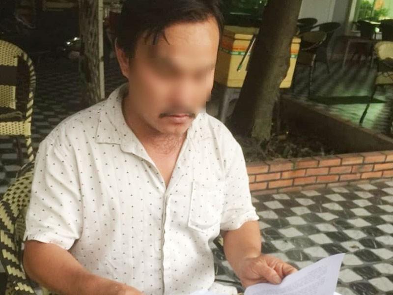 Bị khởi tố vì tố cáo phó giám đốc công an