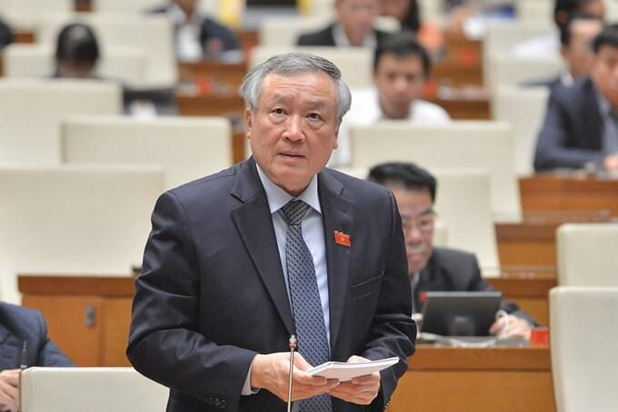 Ông Nguyễn Hòa Bình phủ nhận việc 'xử án theo chỉ đạo'