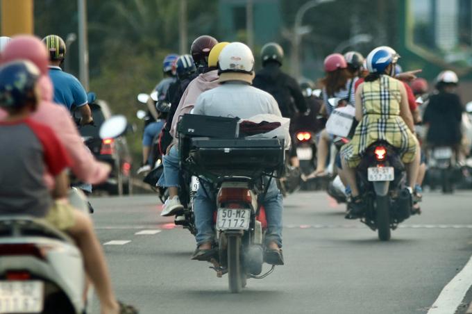 Đề xuất thu phí khí thải hàng triệu xe máy ở TP HCM