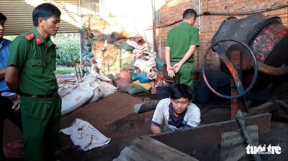 Ngày 18-12 xử vụ trộn 'hỗn hợp pin' vào tiêu tại Đắk Nông