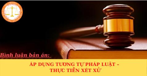 Áp dụng tương tự pháp luật – thực tiễn xét xử