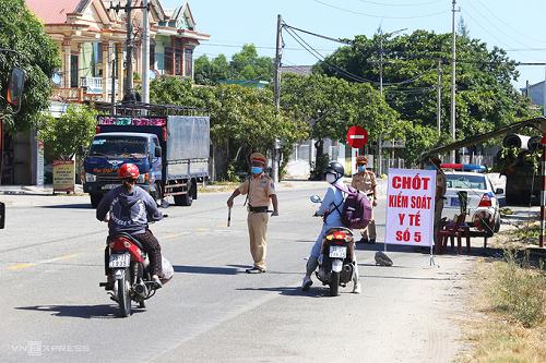 Thừa Thiên Huế giãn cách xã hội 4 xã, phường