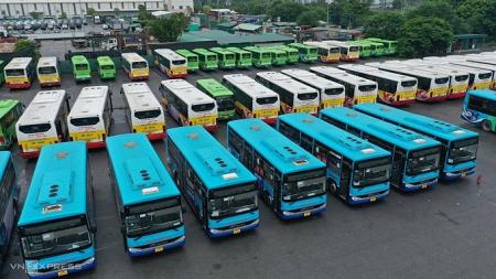 Đề xuất xe buýt Hà Nội chạy trở lại sau 21/9