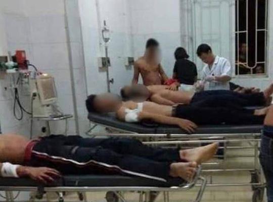 2 nhóm trai làng hỗn chiến khi đi tán gái, 6 người nhập viện