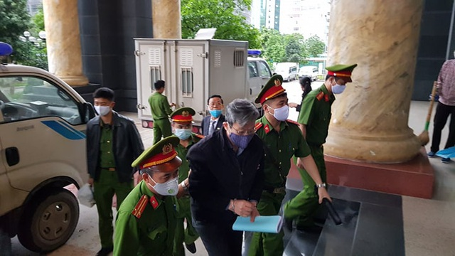 Cựu Bộ trưởng Nguyễn Bắc Son cùng đồng phạm hầu tòa phúc thẩm
