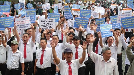 VKSND Cấp cao đề nghị hủy bản án Vinasun kiện Grab