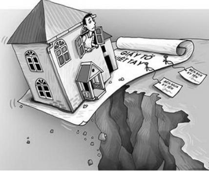 Rủi ro khi mua bán nhà bằng giấy viết tay