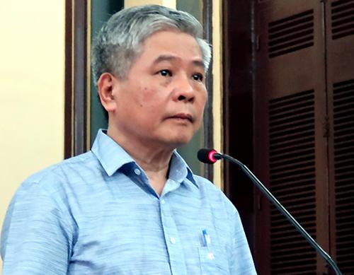 Nguyên phó thống đốc Đặng Thanh Bình hầu tòa