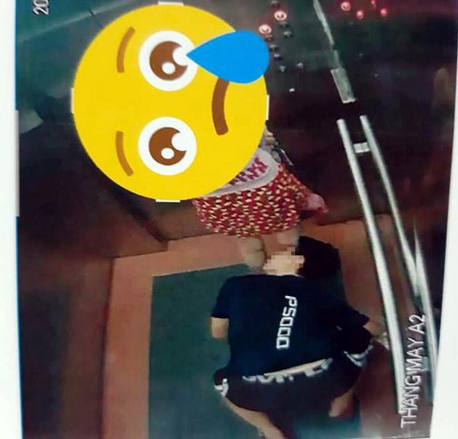 Người quỳ trong thang máy nhìn xuyên váy phụ nữ là thiếu niên mới 16 tuổi